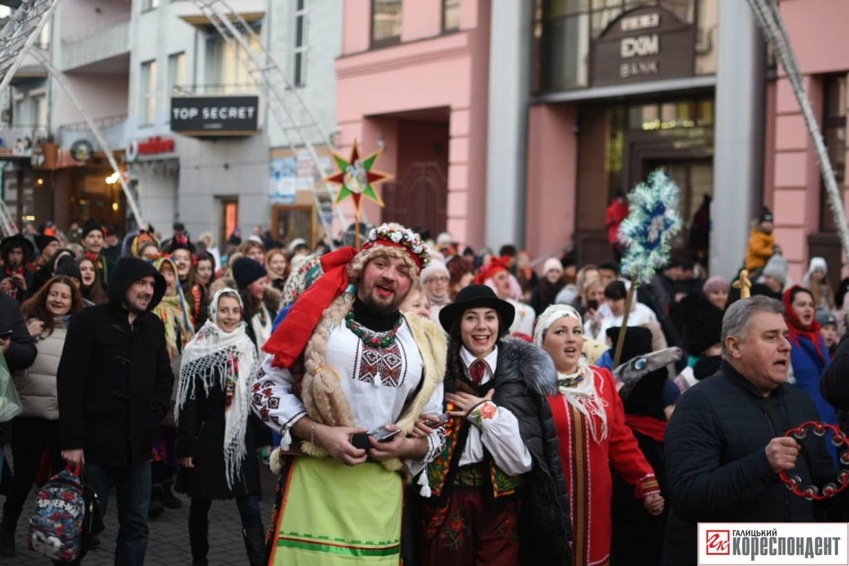 В центрі Франківська пройшов парад Маланок. ФОТО, фото-6
