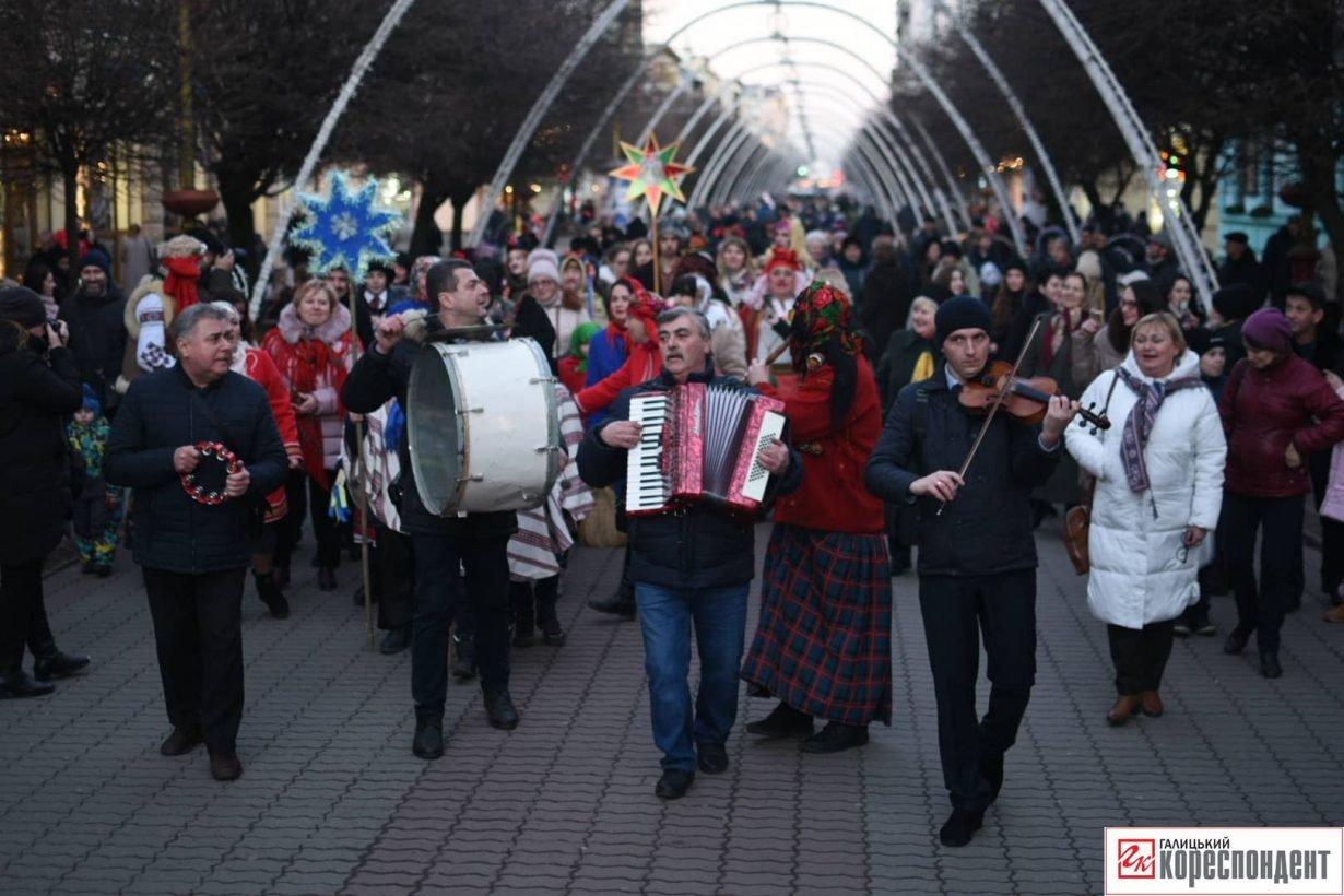 В центрі Франківська пройшов парад Маланок. ФОТО, фото-2