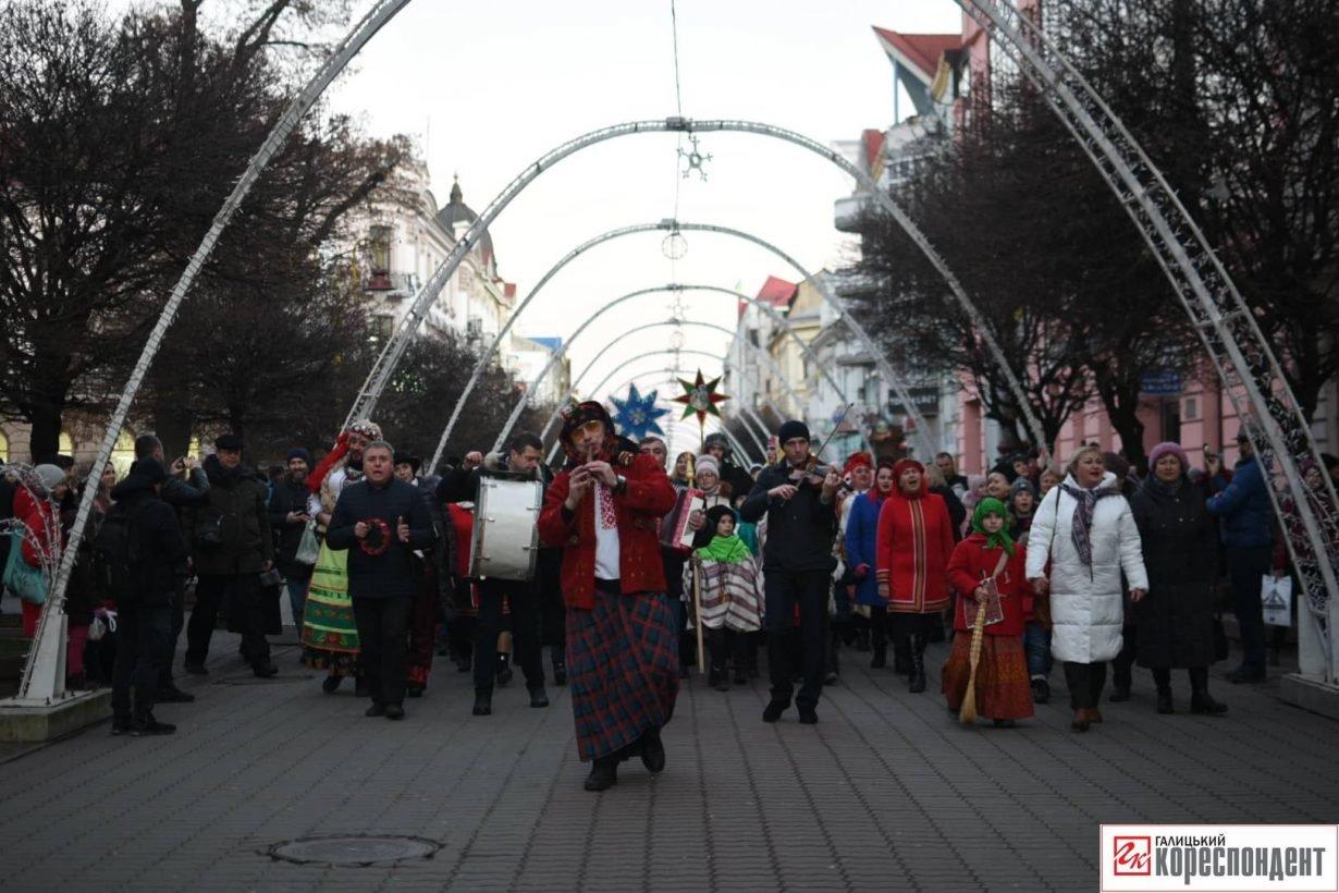 В центрі Франківська пройшов парад Маланок. ФОТО, фото-5