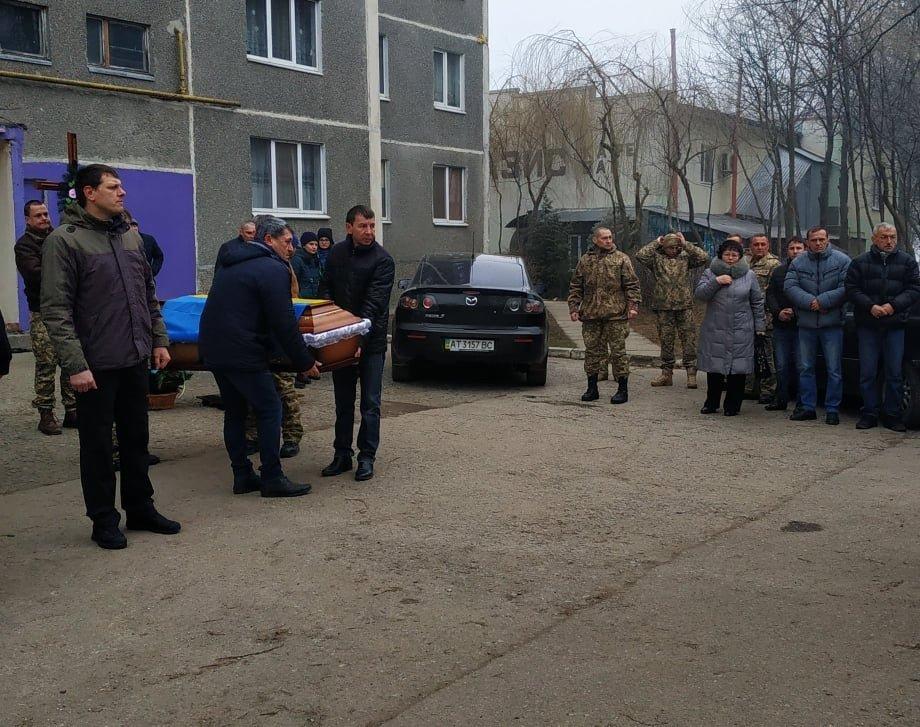 У Бурштині попрощалися з учасником бойових дій (фото), фото-1