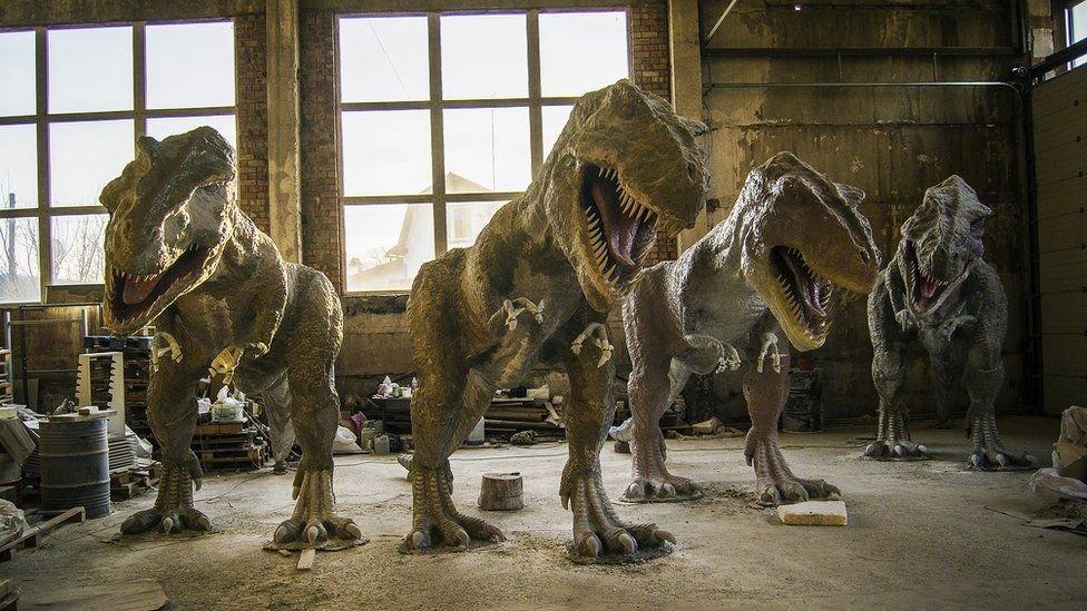 """""""Я все покинув і почав робити динозаврів"""". Історія майстра з Коломиї, фото-1"""