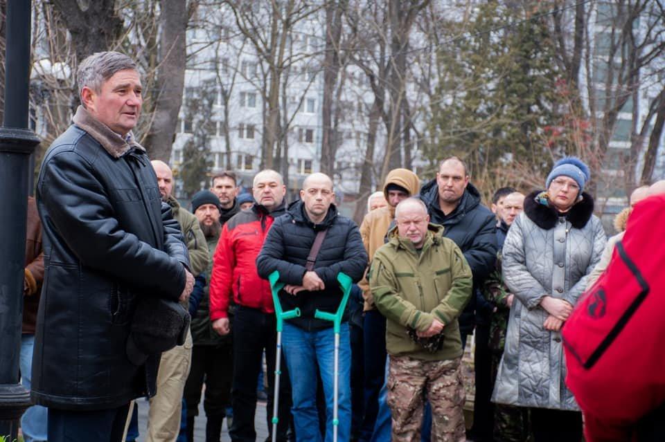 У Франківську вшанували пам'ять загиблого захисника України Григорія Семанишина (ФОТО), фото-5