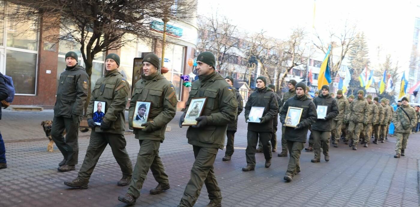 У Франківську вшанували пам'ять захисників Донецького аеропорту (фото), фото-5