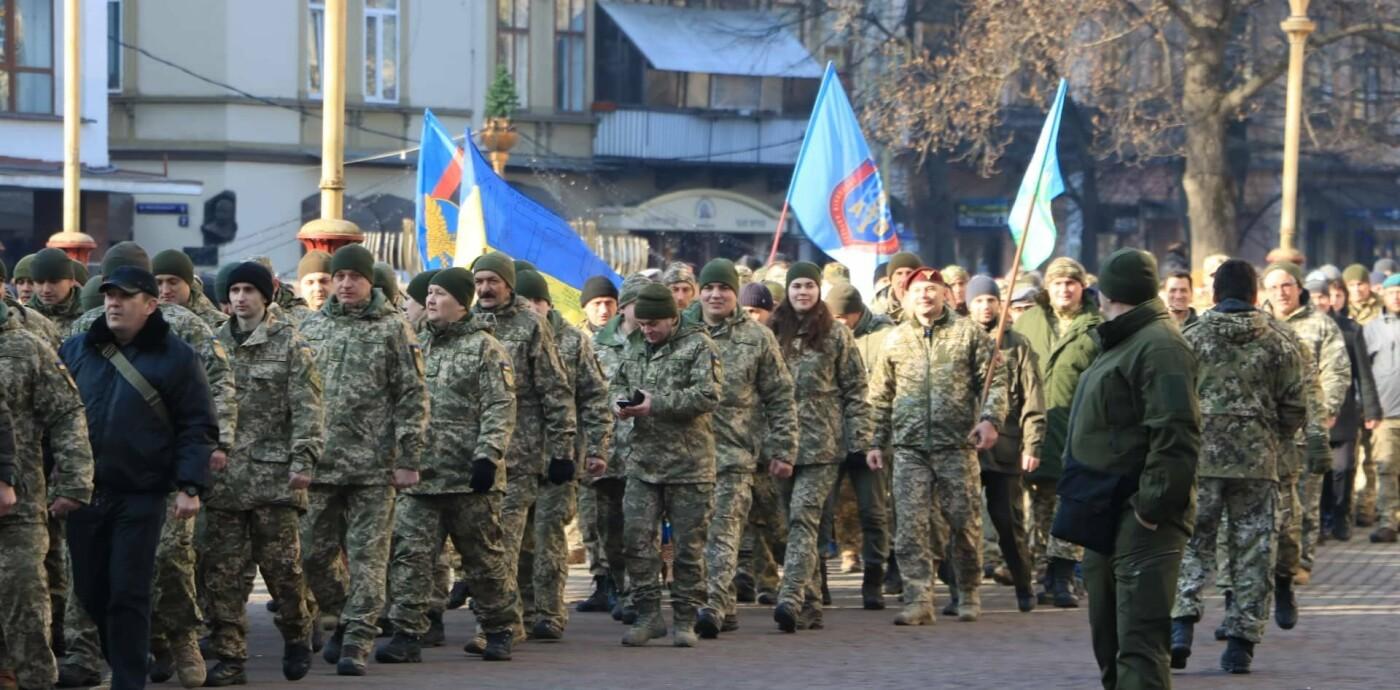 У Франківську вшанували пам'ять захисників Донецького аеропорту (фото), фото-4