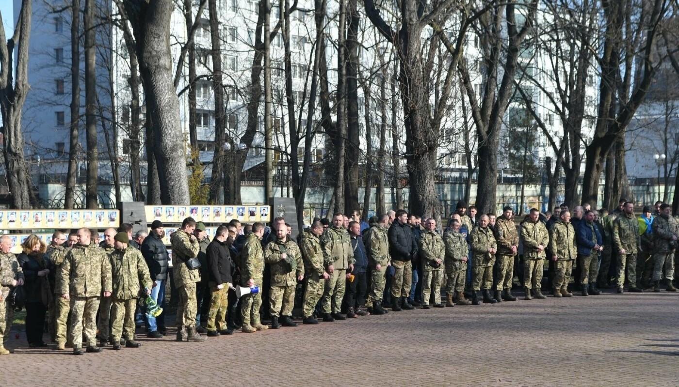 У Франківську вшанували пам'ять захисників Донецького аеропорту (фото), фото-2