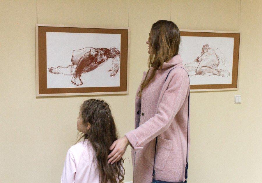 Персональна виставка художника Миколи Грицеляка відкрилась в Івано-Франківську (фото), фото-1