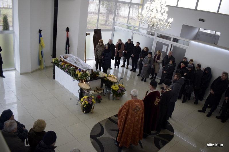 В Франківську прощалися з племінницею Бандери - Дарією Возняк, фото-1