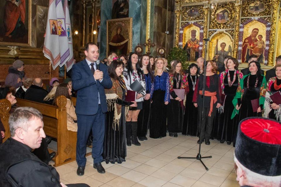 У катедрі Івано-Франківська вперше зазвучали трембіти. ФОТО, фото-6