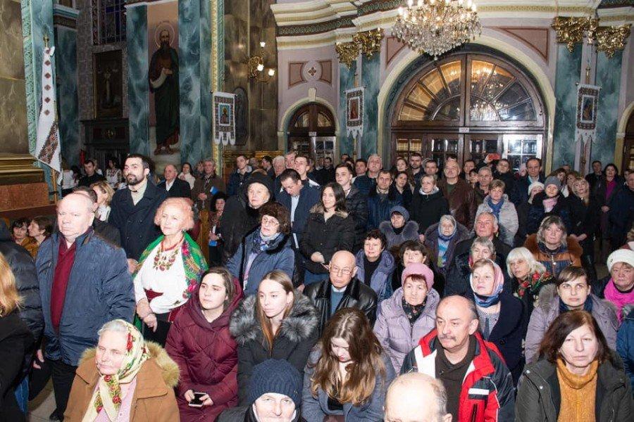У катедрі Івано-Франківська вперше зазвучали трембіти. ФОТО, фото-4
