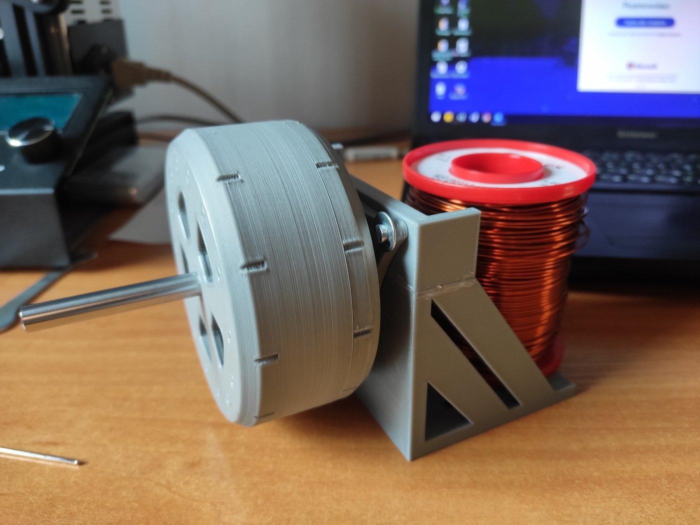 Студент ІФНТУНГ за допомогою 3D друку виготовив безколекторний електродвигун (фото), фото-3