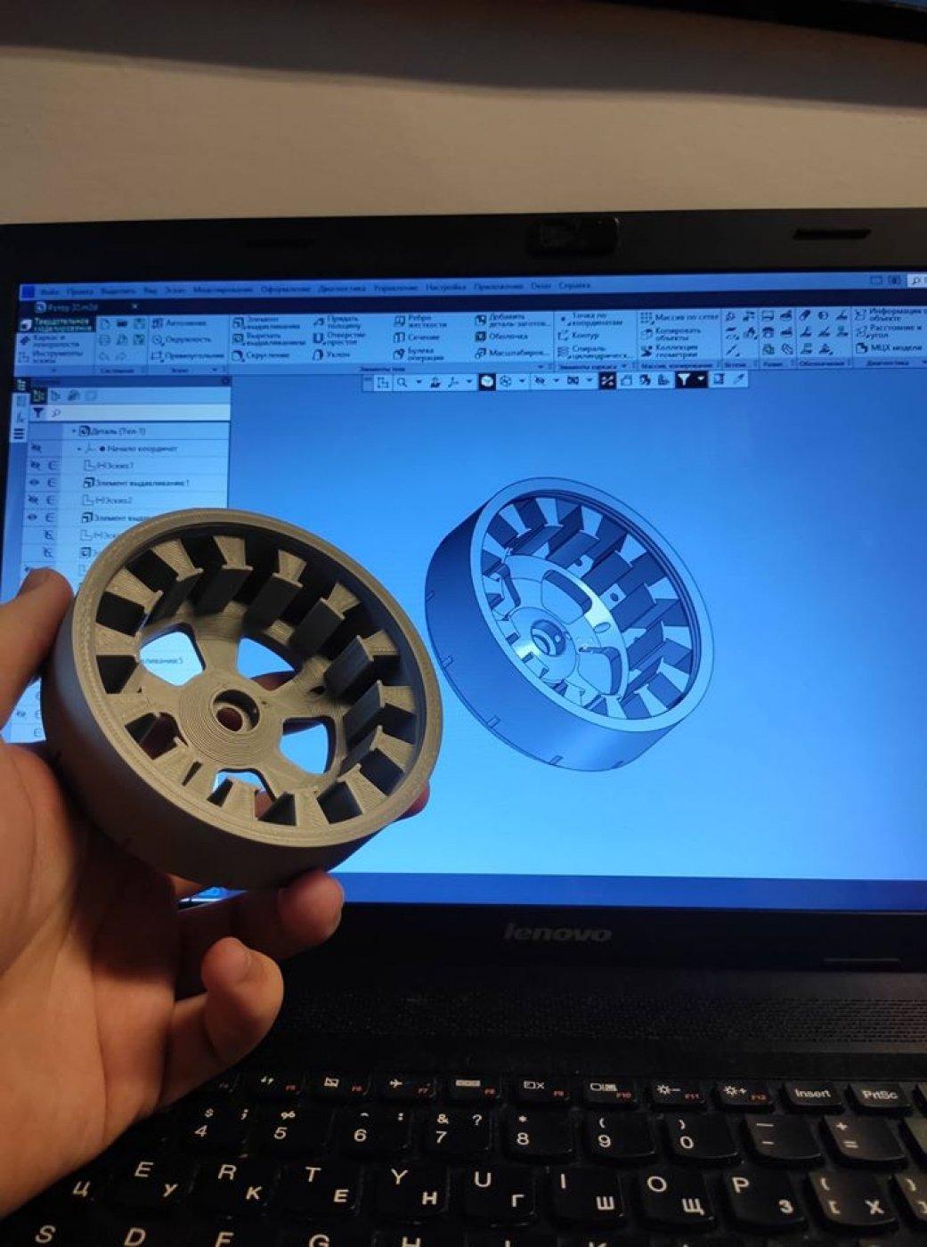 Студент ІФНТУНГ за допомогою 3D друку виготовив безколекторний електродвигун (фото), фото-6