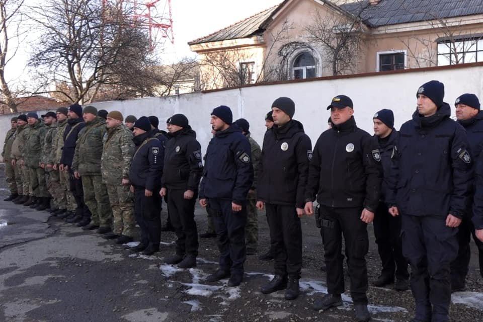 Зведений загін поліціянтів Прикарпаття повернувся із зони проведення ООС (ФОТО, ВІДЕО), фото-2