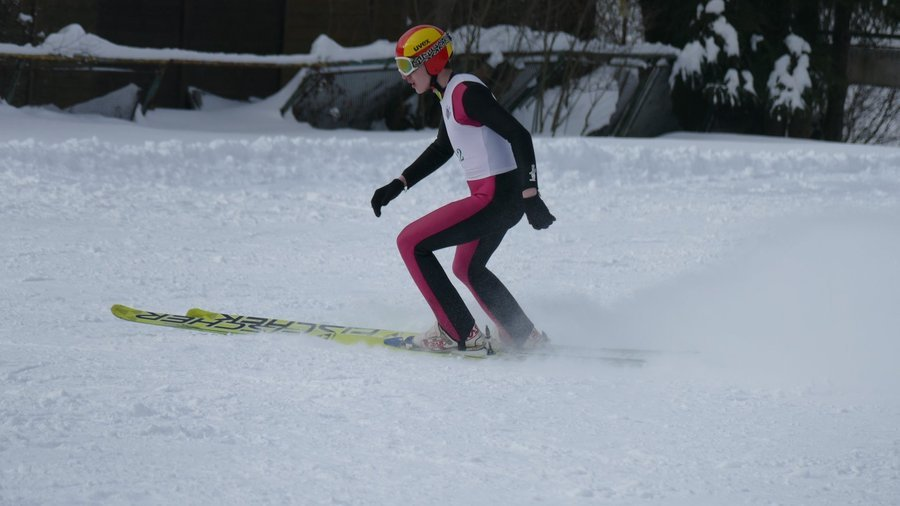 Верховинець Віталій Калініченко став чемпіоном України з лижних стрибків на 90-метровому трампліні, фото-1