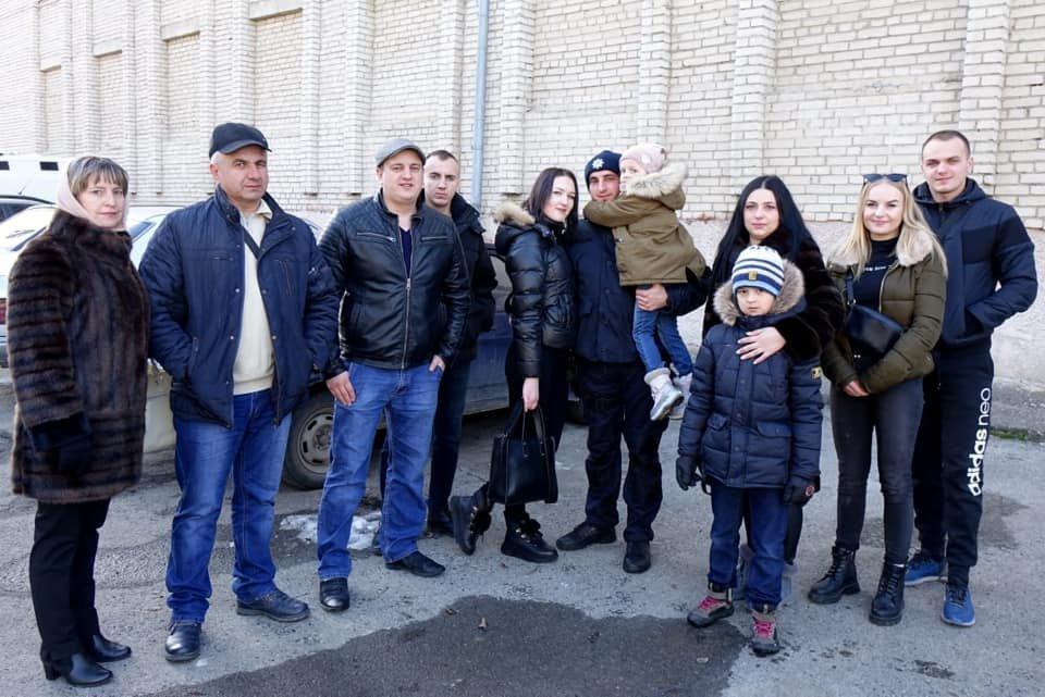 Зведений загін поліціянтів Прикарпаття повернувся із зони проведення ООС (ФОТО, ВІДЕО), фото-4