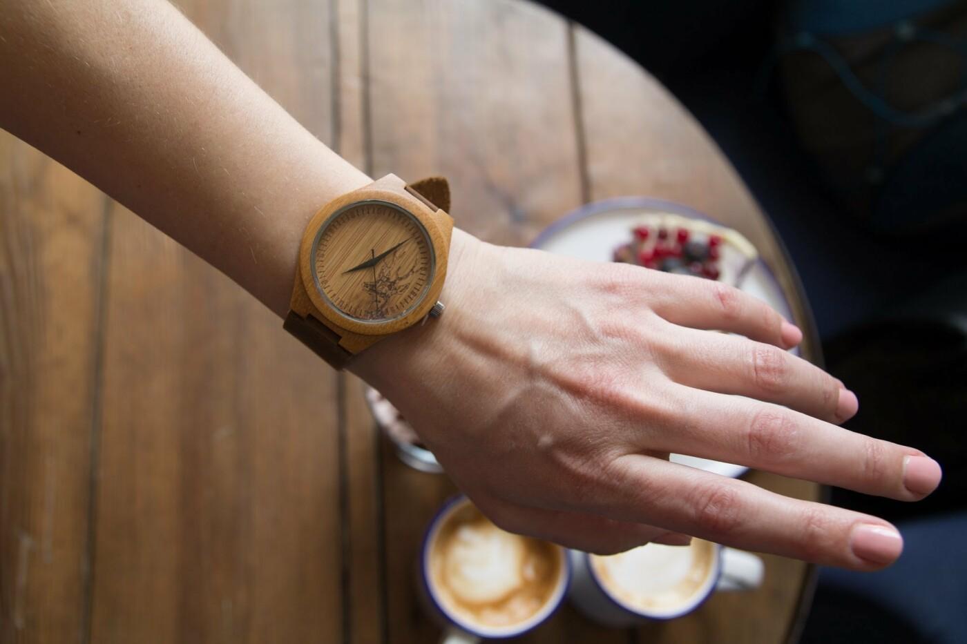 Тренд цієї весни - унікальний годинник з дерева, фото-2