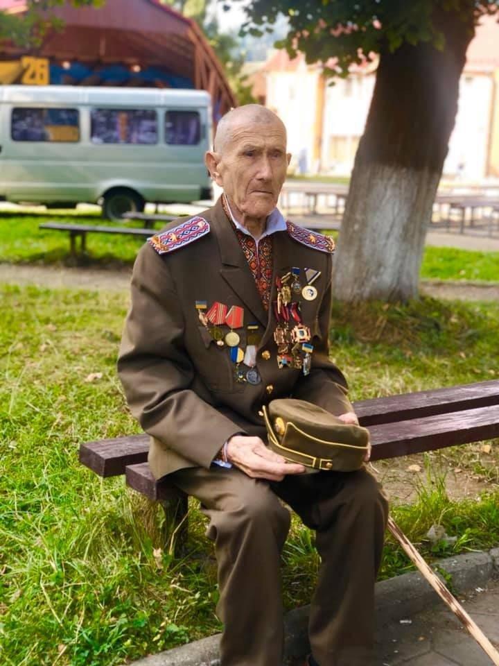 На Прикарпатті помер голова районної станиці Братства вояків УПА Дмитро Сливчук, фото-1