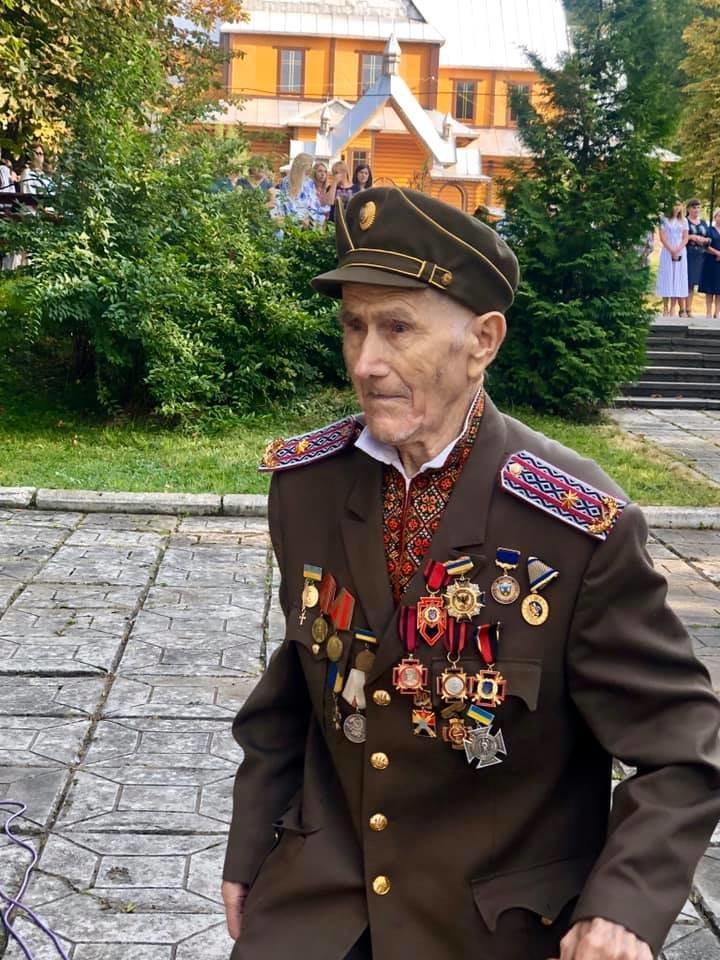На Прикарпатті помер голова районної станиці Братства вояків УПА Дмитро Сливчук, фото-2
