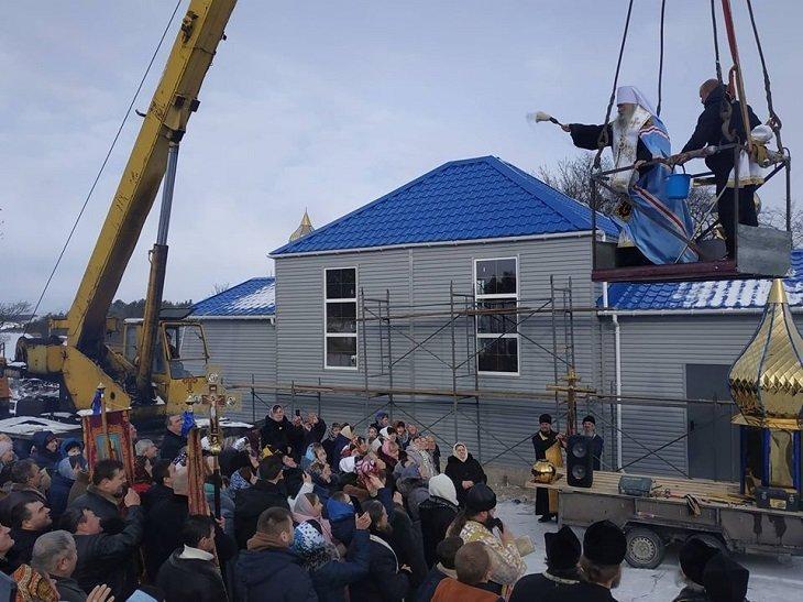 Завдяки коштам з Росіїі за рекордний термін збудували храм УПЦ МП (ФОТО), фото-3