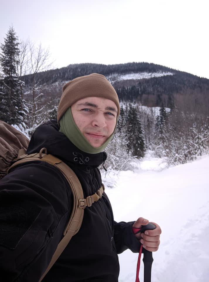 Ветеран АТО з Полтави, який втратив ногу,на протезі підкорив Карпатські вершини (фото), фото-1