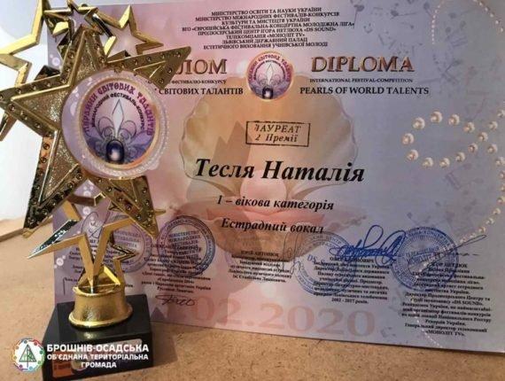 Юна прикарпатка Наталія Тесля здобула друге місце на Міжнародному фестивалі-конкурсі, фото-2