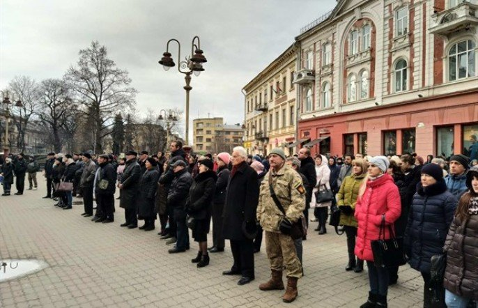 У Франківську пройшло Віче пам'яті Героям Небесної Сотні, фото-2