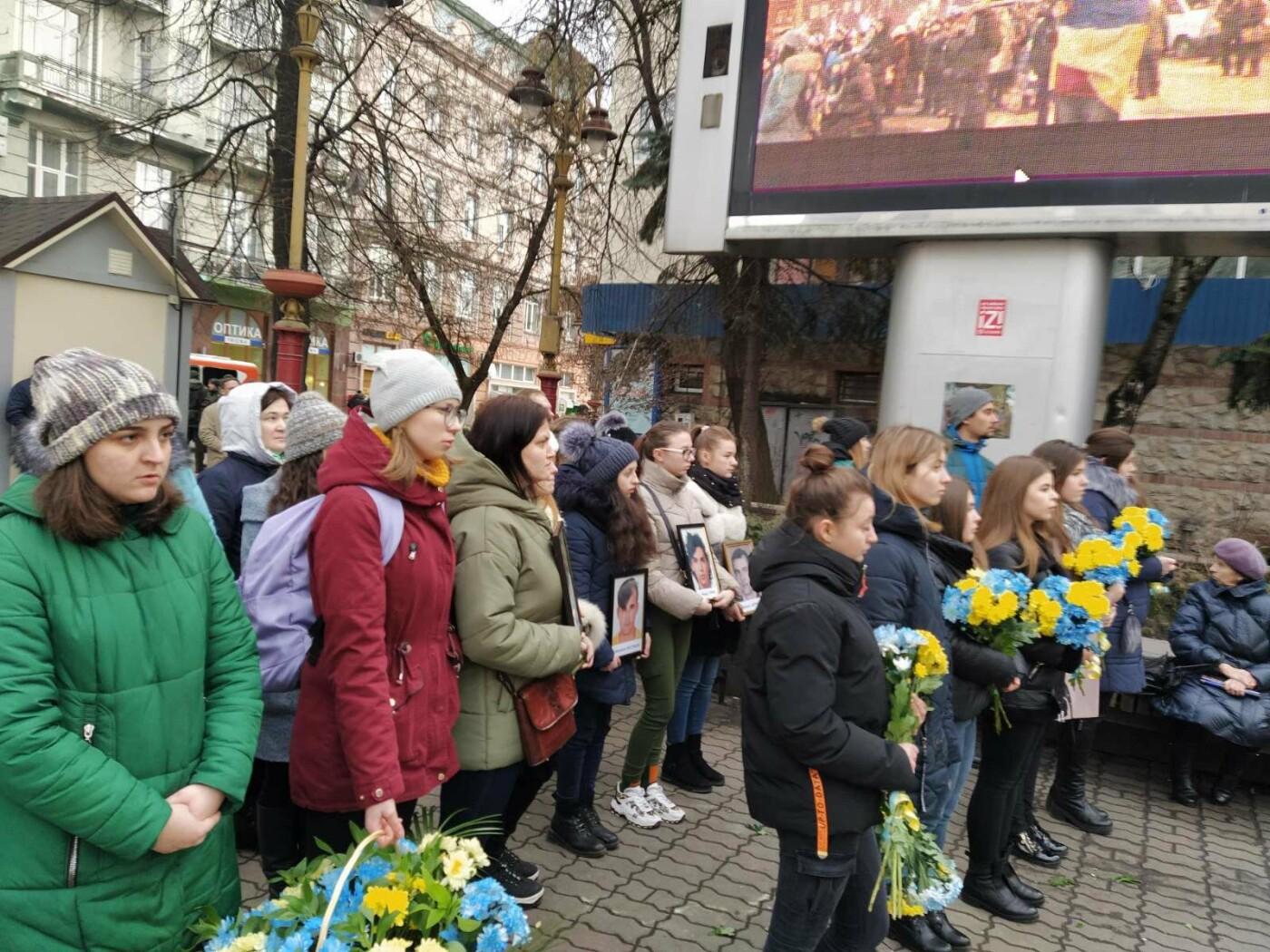 У Франківську пройшло Віче пам'яті Героям Небесної Сотні, фото-1