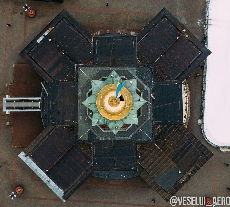 Фотограф поділився світлинами ратуші з висоти., фото-1