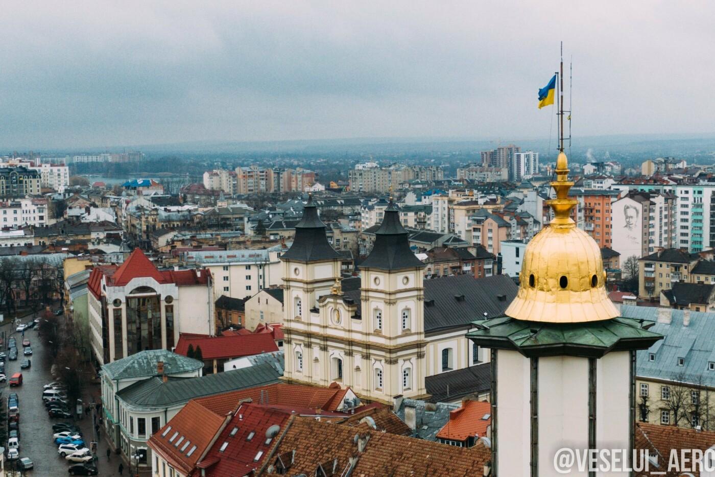 Фотограф поділився світлинами ратуші з висоти., фото-3