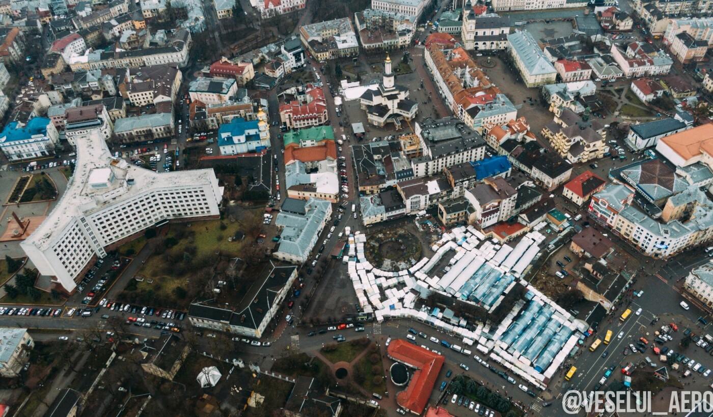 Фотограф поділився світлинами ратуші з висоти., фото-5