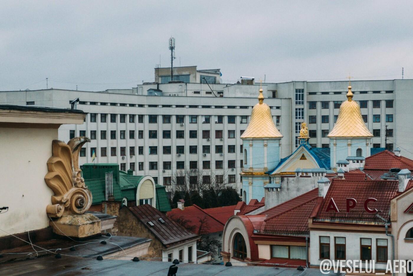 Фотограф поділився світлинами ратуші з висоти., фото-6