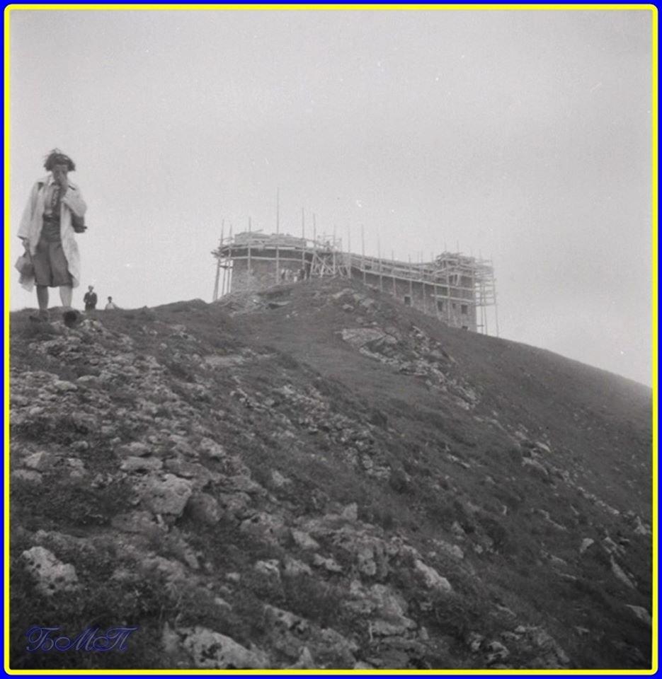 Унікальне фото будівництва обсерваторії Білий Слон 1938 рік з'явилось у мережі (фото) , фото-1