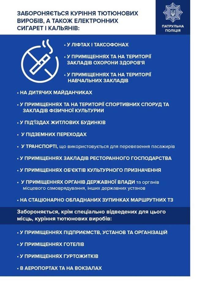 У Франківську склали понад 100 протоколів на курців-порушників, фото-1