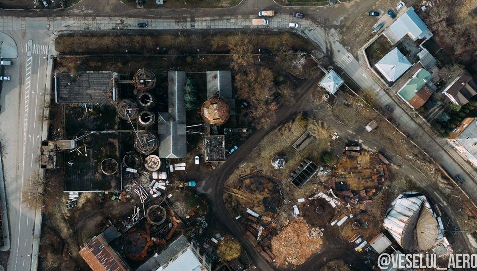 В мережі з'явилися фото колишнього спиртзаводу у Франківську з висоти, фото-2