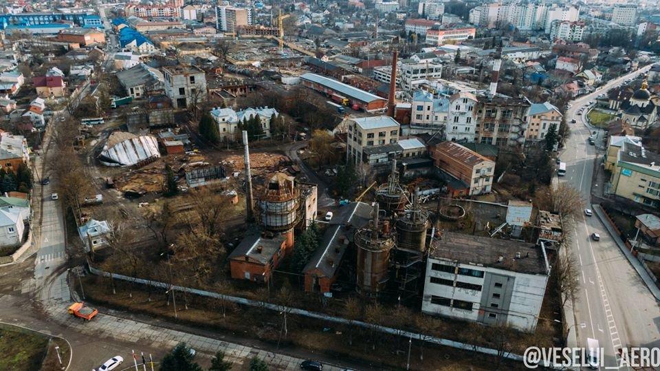 В мережі з'явилися фото колишнього спиртзаводу у Франківську з висоти, фото-3