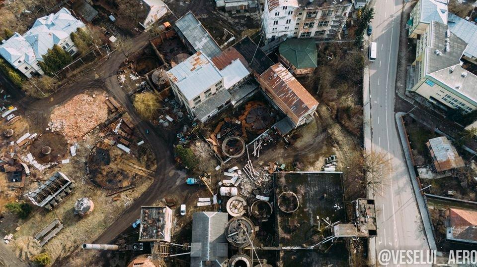 В мережі з'явилися фото колишнього спиртзаводу у Франківську з висоти, фото-4
