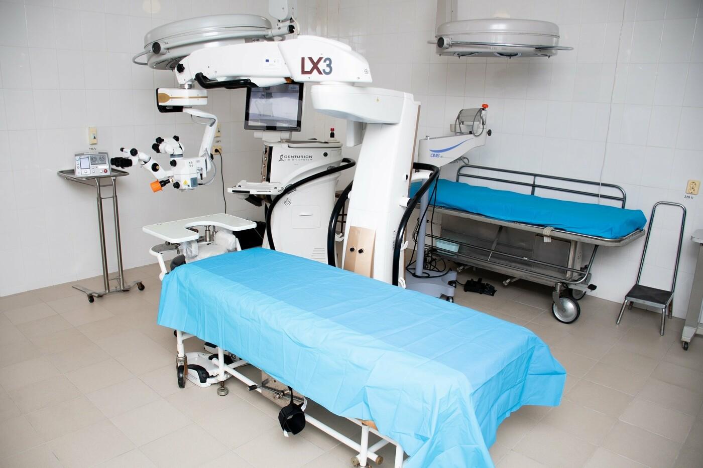 Сучасне обладнання для точних операцій на очах отримала міська лікарня (ФОТО), фото-1