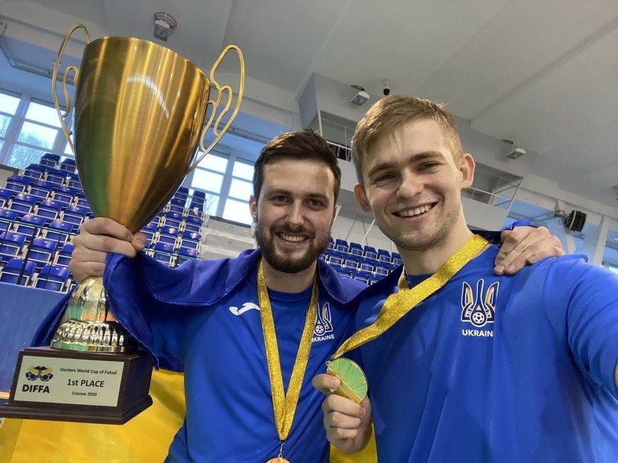 Аспірант ІФНМУ став чемпіоном світу з футзалу серед медиків. ФОТО+ВІДЕО, фото-1