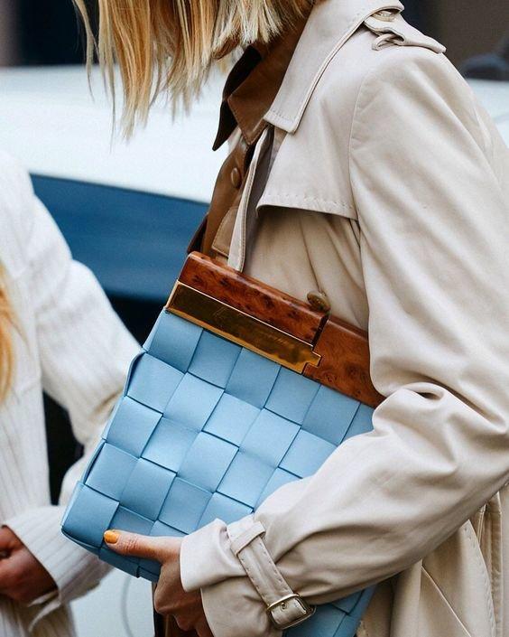 Трендові стьобані сумки 2020 року. Фото - pinterest.ru