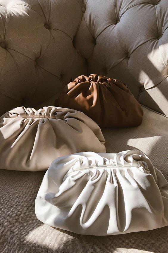 Клатчі Bottega Veneta. Фото - pinterest.ru